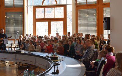 Präsentation der CD der Grundschule Halen