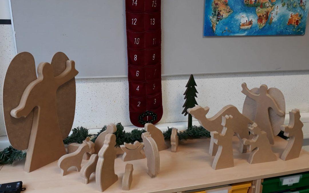 Weihnachten in der Schule